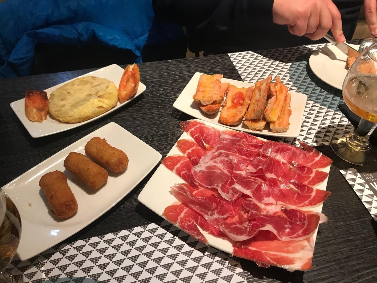 Hiszpańskie tapas